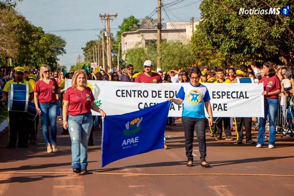 Maracaju: Desfile Cívico em comemoração aos 95 anos da cidade traz emoção e grande público