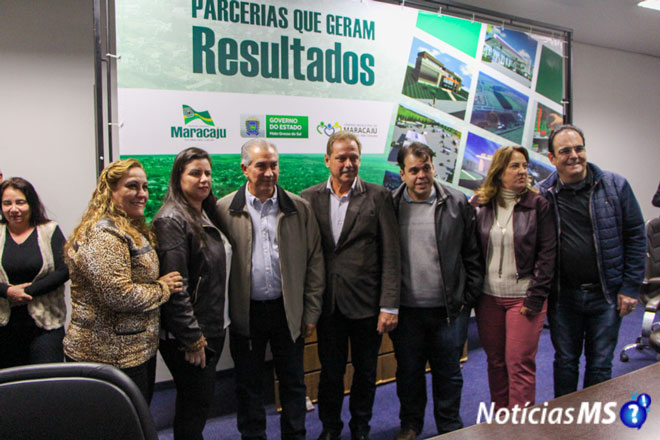 Maracaju recebe investimentos em saúde, cultura, esporte e infraestrutura