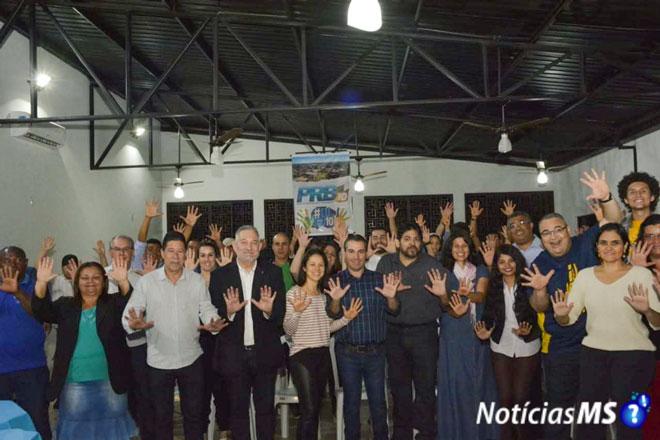 Maracaju: Reunião da direção municipal do Partido Republicano Brasileiro (PRB)