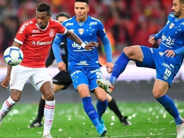 Internacional domina a partida e vence o Cruzeiro por 3 a 0