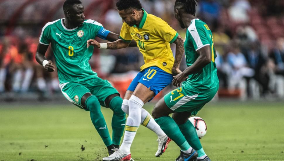 Brasil não tem uma boa performance e empata no amistoso