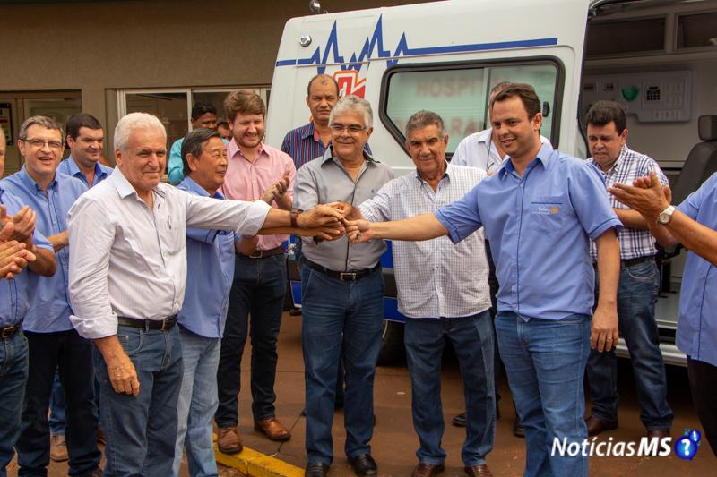 Maracaju: Rotary Club Maracaju realiza entrega de mais uma UTI móvel