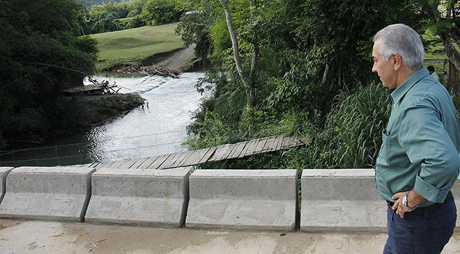 Bodoquena: Governo entrega asfalto na Serra das Três Cruzes e ponte sobre Rio Salobra