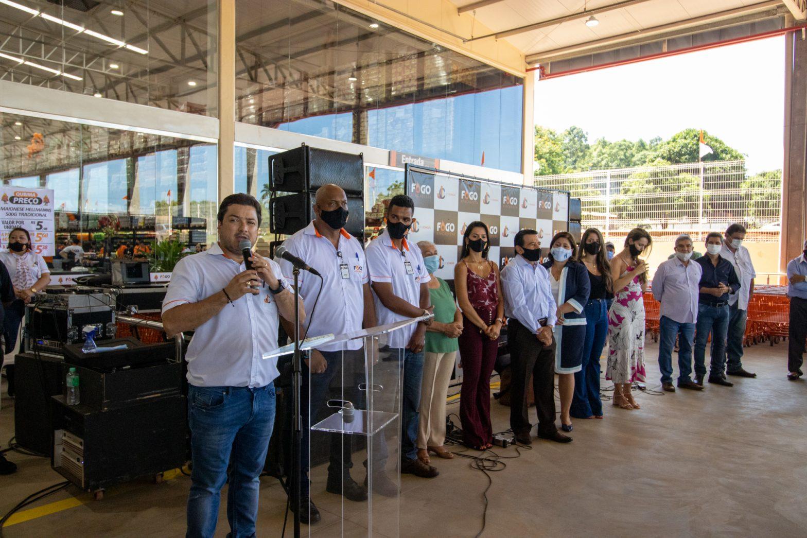 Inauguração Fogo Atacadista em Maracaju/MS
