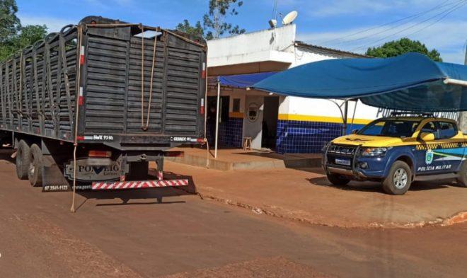 Polícia Militar Rodoviária localiza 'mocó' em caminhão e apreende quase 300 kg de drogas em Maracaju