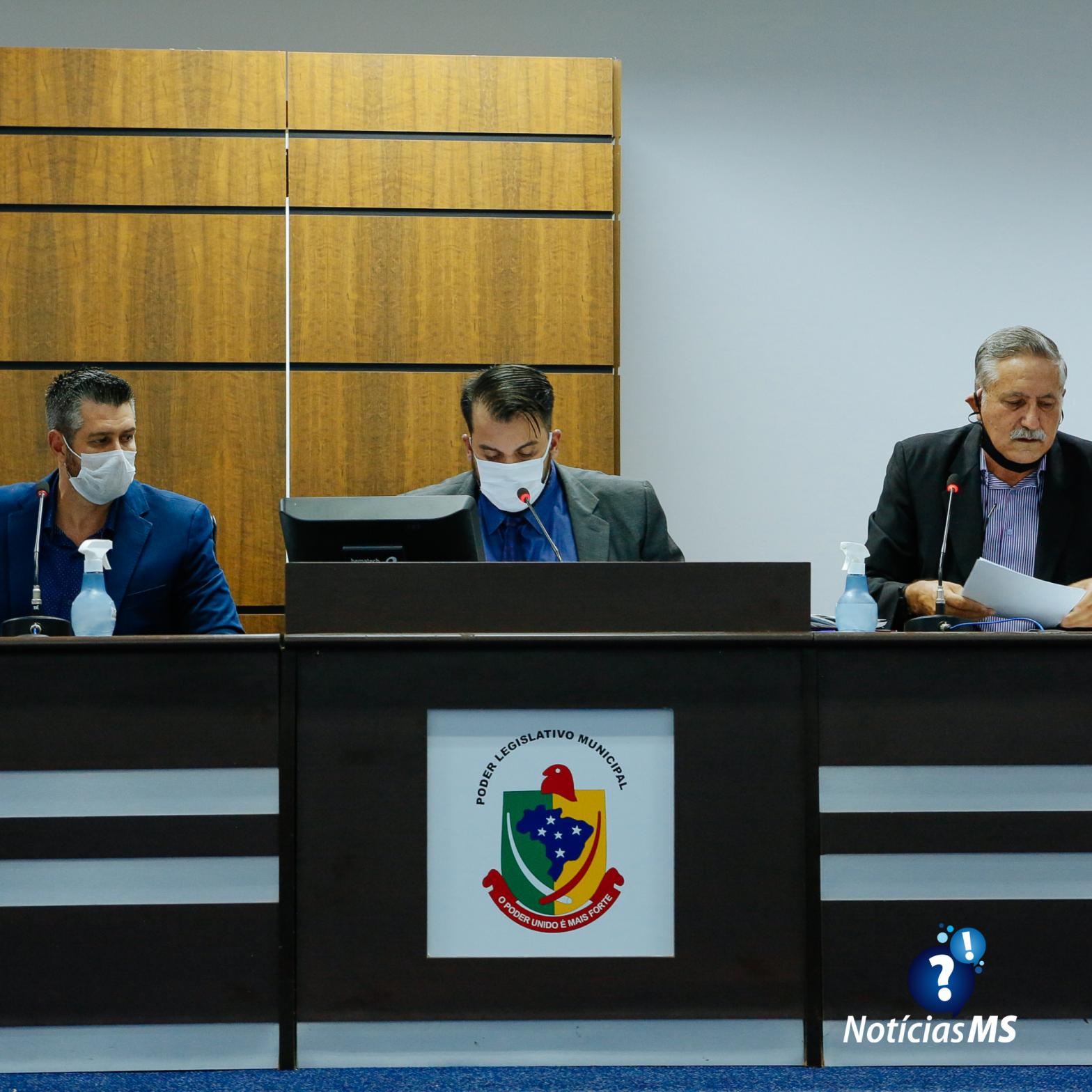 Sessão ordinária da Câmara Municipal de Maracaju (23/02)