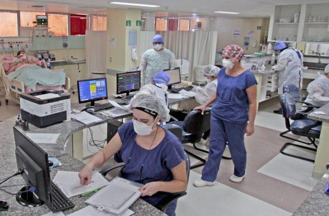Em MS, mais de 500 pessoas estão hospitalizadas por Covid-19