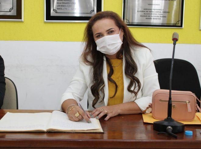 Vereadora Luzia Rocha faz solicitações aos Deputados Londres Machado e Mara Caseiro para melhorias na saúde de Juti/MS