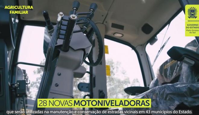 Novas motoniveladoras vão potencializar agricultura familiar em 43 cidades