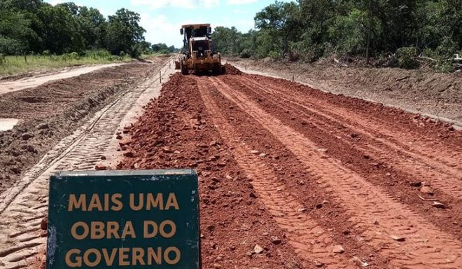 Governo do Estado dá início a implantação da Estrada do Taquari, ligando Pantanal do Paiaguás à Nhecolândia