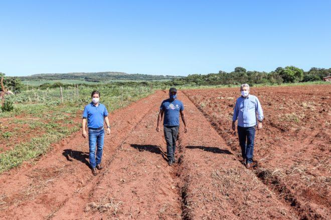 Agricultores familiares de Maracaju recebem assistência técnica e auxílio do Município para melhorar a produção