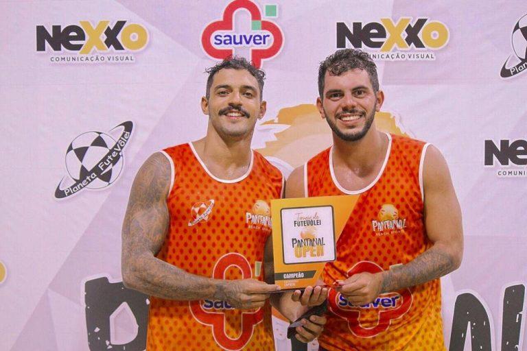 Dupla Maracajuense de Futevôlei disputa campeonato Brasileiro neste fim de semana