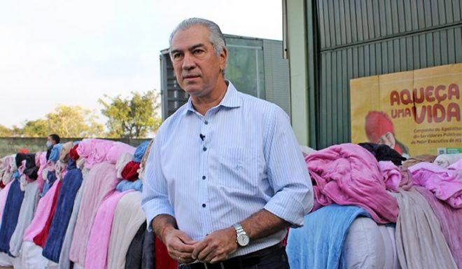 Com 80 mil unidades, cobertores entregues pelo Governo do Estado vão aquecer famílias nos 79 municípios de MS