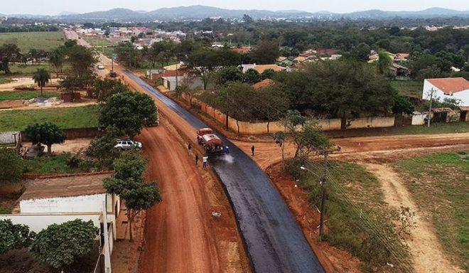 Pavimentação da Rodovia do Turismo, em Bonito, avança e será concluída em julho
