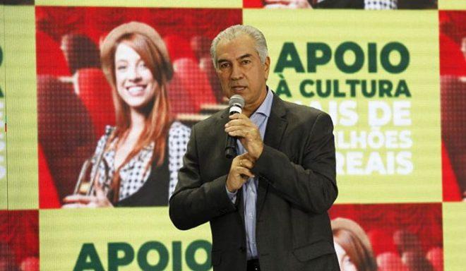 Governador autoriza lançamento do FIC e Cultura de MS ganha mais R$ 8 milhões
