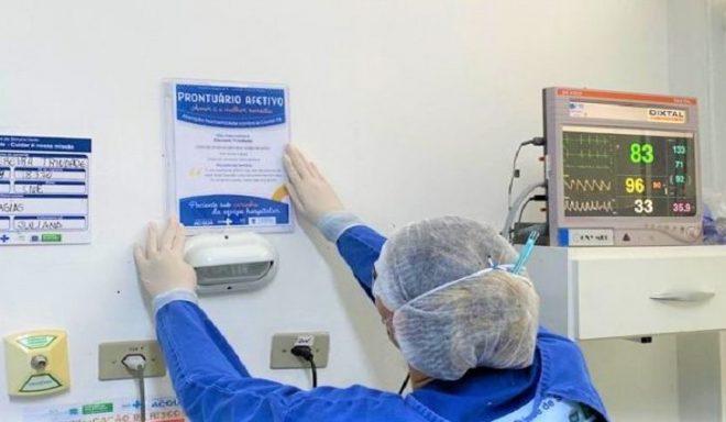 Hospital Regional de Ponta Porã implementa Prontuário Afetivo em UTI Covid-19