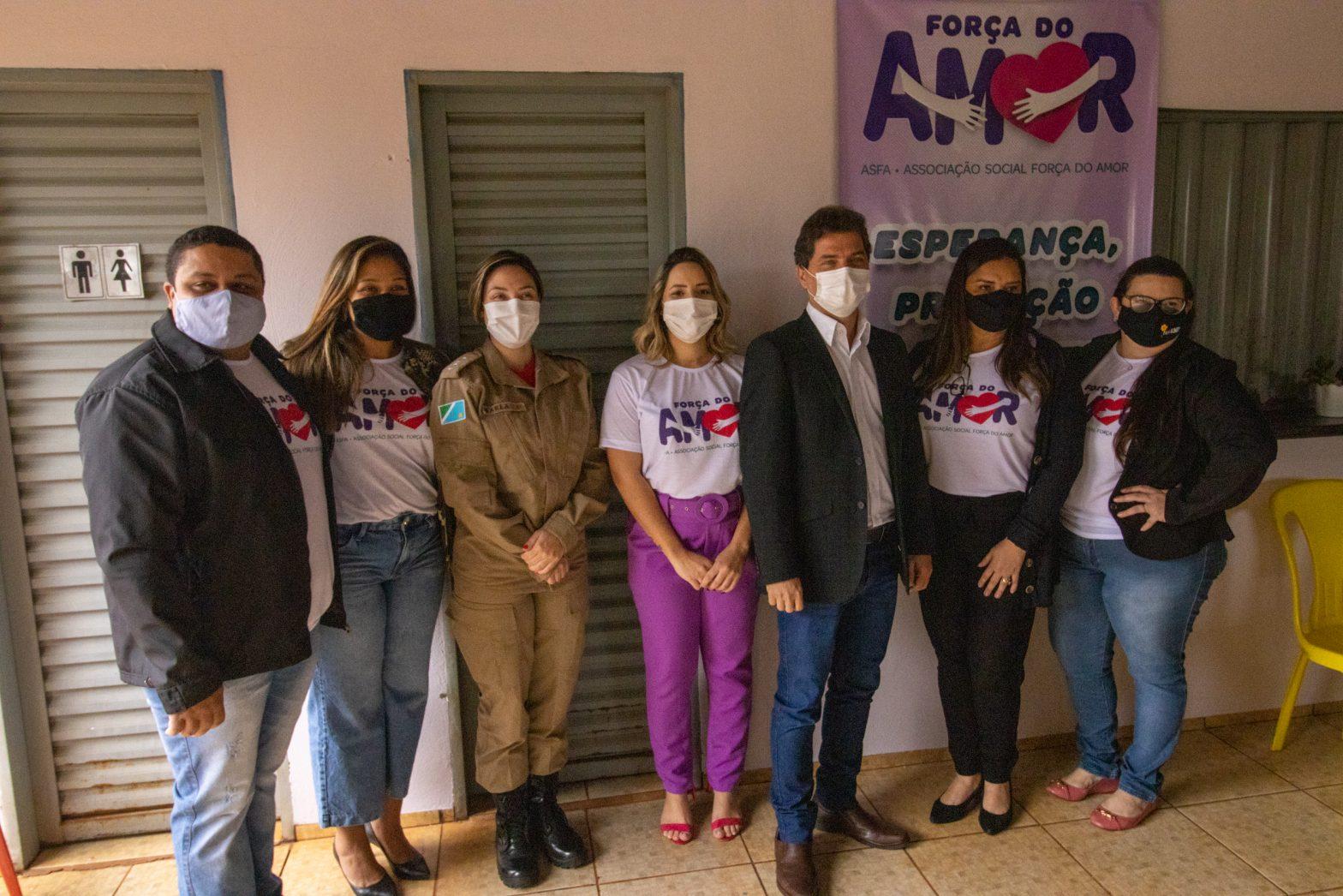 Maracaju: Associação Força do Amor Reinaugura em novo endereço