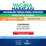 Vacinação: Saiba quais os públicos irão se vacinar nesta terça-feira (12)